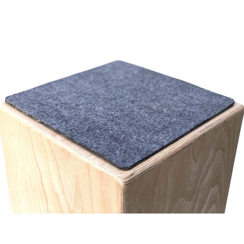 Sitzpad filz mit antirutsch beschichtung - Stuhlauflage filz ...