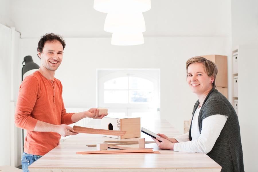 Markus und Henriette Meyer, Inhaber der Manufaktur